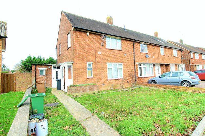 3 Bedrooms End Of Terrace House for sale in CHAIN FREE family home on Farley Hill, Luton