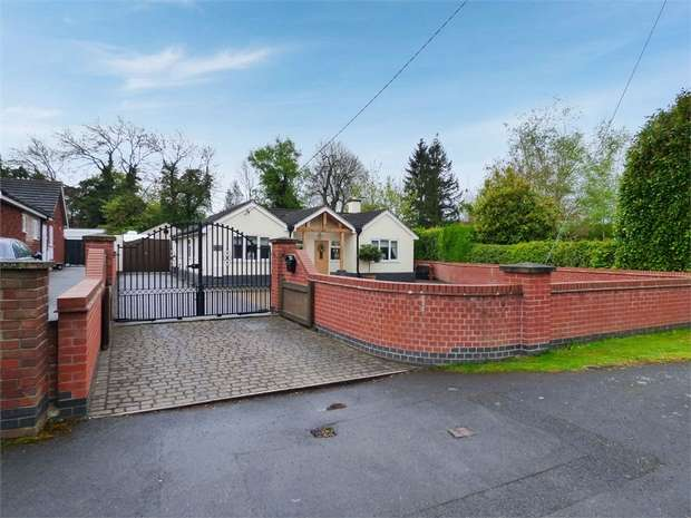 3 Bedrooms Detached Bungalow for sale in Grace Dieu Road, Whitwick, Coalville, Leicestershire