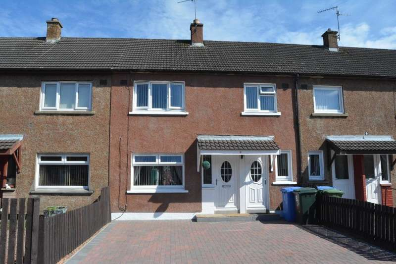 3 Bedrooms Terraced House for sale in Buchan Place, Grangemouth, Falkirk, FK3 8RG