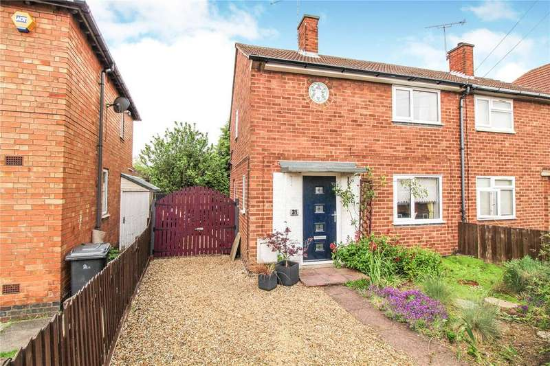 2 Bedrooms Semi Detached House for sale in Guthridge Crescent, Leicester, LE3