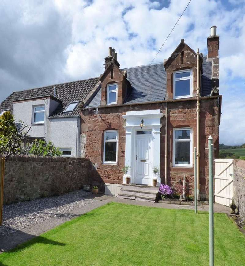 2 Bedrooms Semi Detached House for sale in East Back Dykes, Strathmiglo, Fife