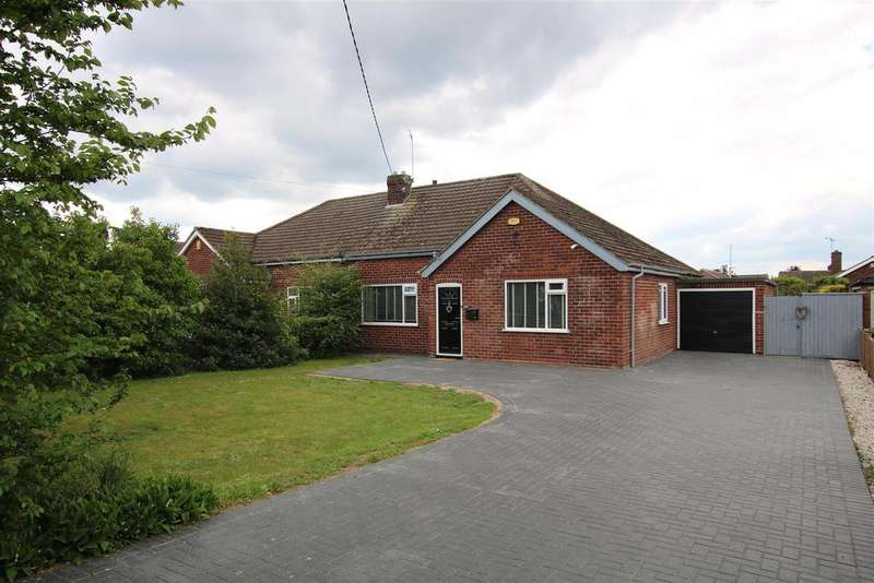 3 Bedrooms Semi Detached Bungalow for sale in Grantham Road, Bracebridge Heath, Lincoln