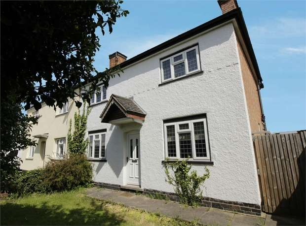 3 Bedrooms Semi Detached House for sale in Leicester Road, Sapcote, Leicester