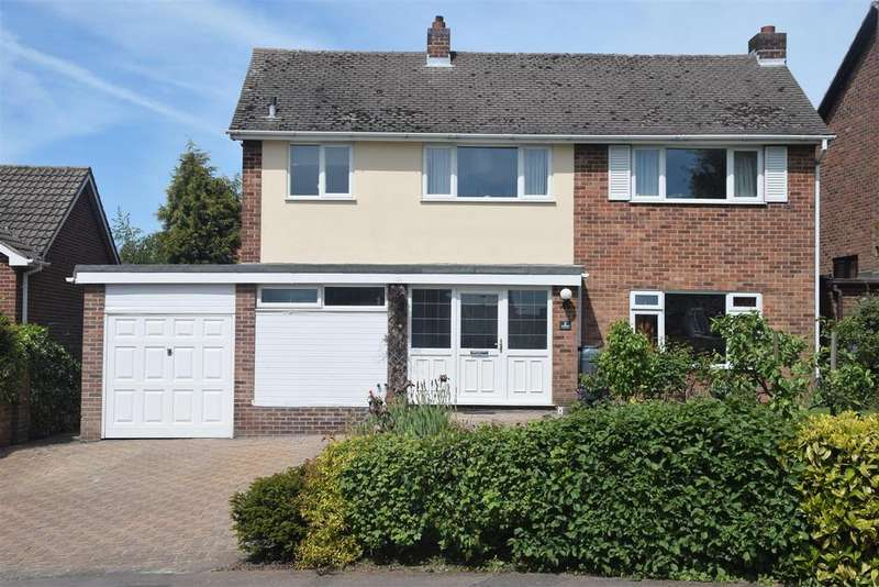 4 Bedrooms Detached House for sale in Woodside, Ashby-De-La-Zouch,Leicestershire