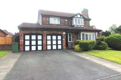 4 Bedrooms Detached House for sale in Marchbank Drive, Cheadle, Cheshre, .
