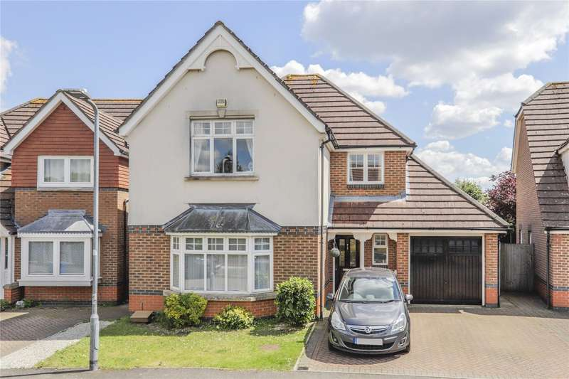 4 Bedrooms Detached House for sale in Hornby Avenue, Bracknell, Berkshire, RG12