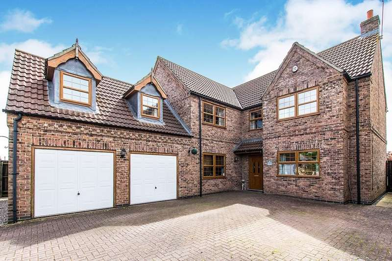 5 Bedrooms Detached House for sale in Leys Close, North Hykeham, Lincoln, LN6