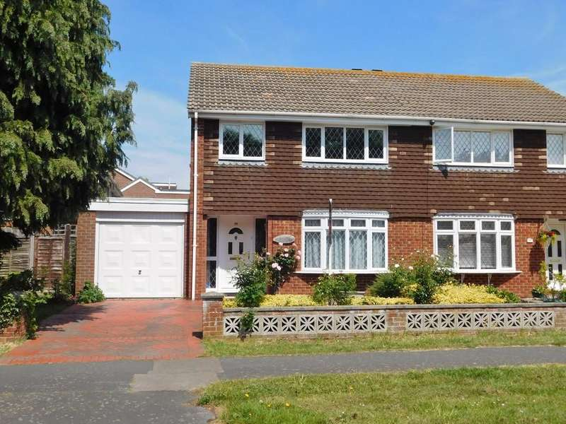 3 Bedrooms Semi Detached House for sale in Gorran Avenue, Gosport