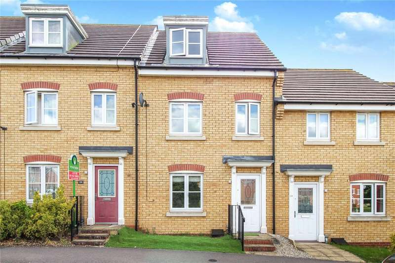 3 Bedrooms Town House for sale in Brompton Road, Hamilton, Leicester, LE5