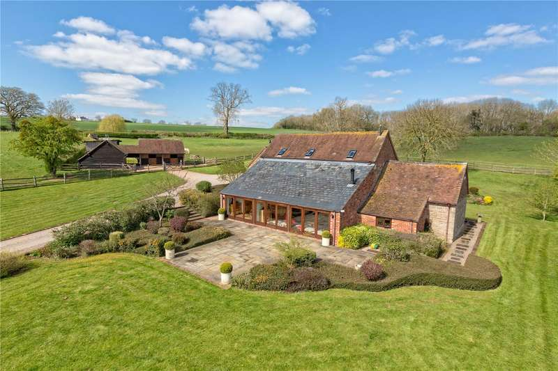 4 Bedrooms Barn Conversion Character Property for sale in Astbury Barn, Astbury, Bridgnorth, Shropshire, WV16