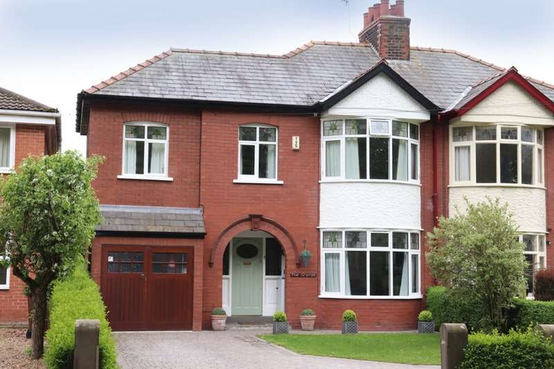 4 Bedrooms Semi Detached House for sale in Holmeswood Road, Ormskirk, Lancashire, L40