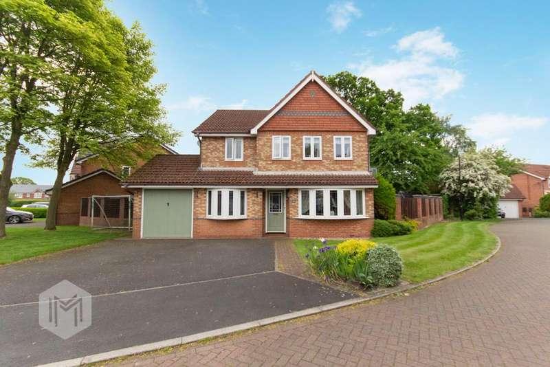 4 Bedrooms Detached House for sale in Cherryfields, Euxton, Chorley, Lancashire, PR7