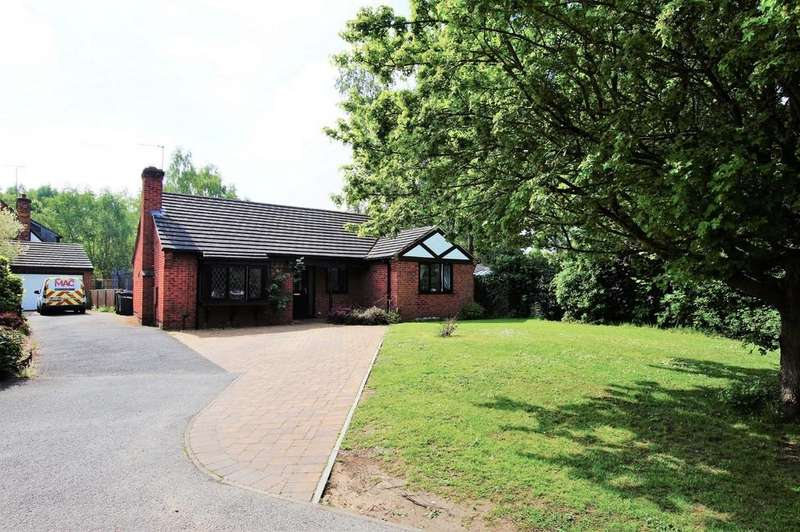 3 Bedrooms Detached Bungalow for sale in Fulmar Court, Lincoln