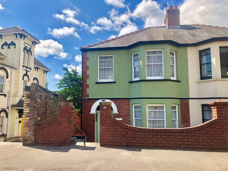 3 Bedrooms Semi Detached House for sale in Summerhill Avenue, Newport