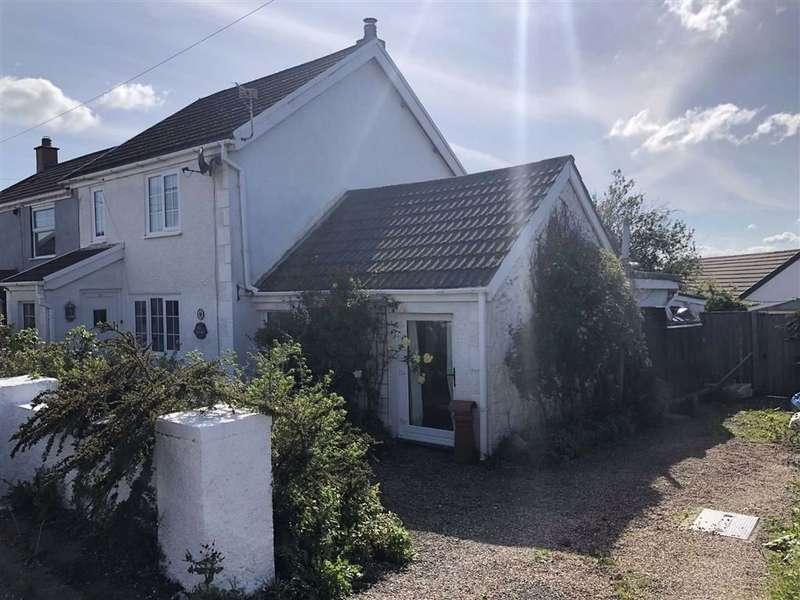 3 Bedrooms Semi Detached House for sale in Heol Treventy, Cross Hands