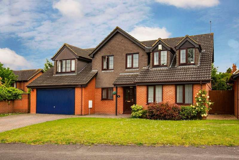 5 Bedrooms Detached House for sale in Red House Close, Lower Earley, Reading, RG6 4XB
