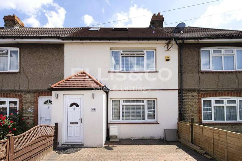 3 Bedrooms Terraced House for sale in Clitterhouse Crescent, London, NW2