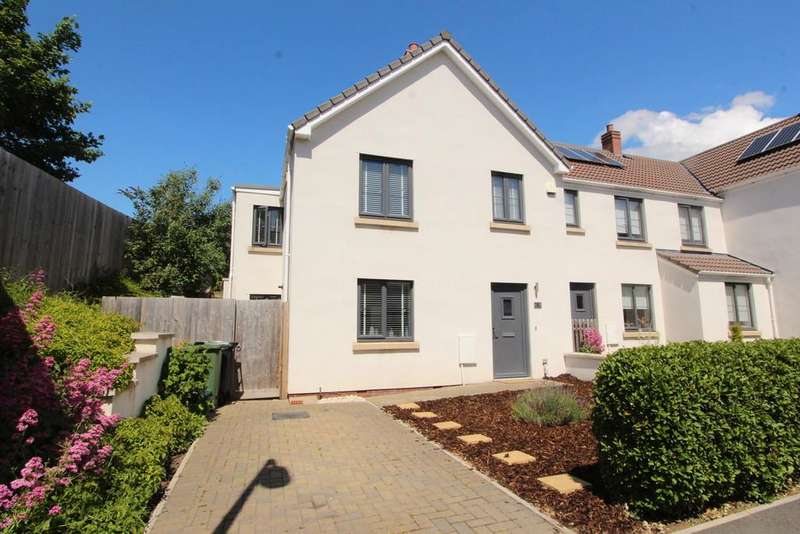 4 Bedrooms End Of Terrace House for sale in Nearly new home in Congresbury