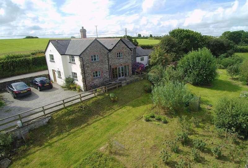 4 Bedrooms Detached House for sale in Frithelstock, Nr Torrington