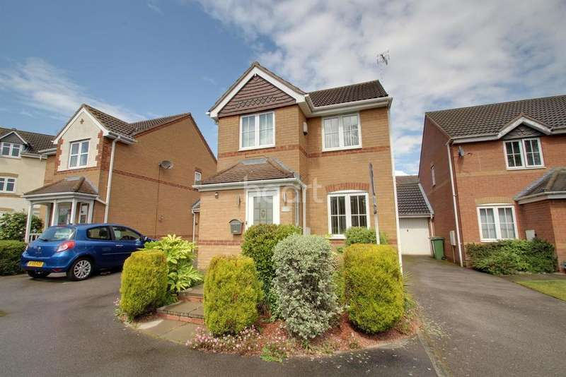 3 Bedrooms Detached House for sale in Darien Way, Thorpe Astley, Leicester