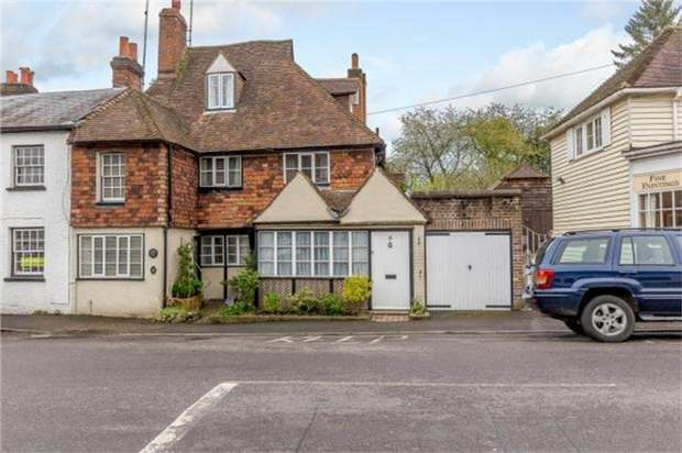 4 Bedrooms End Of Terrace House for sale in 5 Church Road, Sundridge, Sevenoaks, Kent