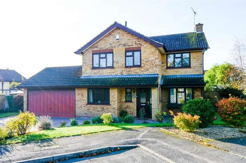 4 Bedrooms Detached House for sale in Bushey Close, Narborough, Leicester