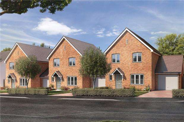 3 Bedrooms Detached House for sale in Dukes Meadow, Odiham Road, Riseley