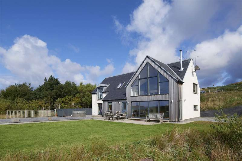 4 Bedrooms Detached House for sale in Locholly Lodge, 116A Polglass, Achiltibuie, Ullapool, Highland, IV26