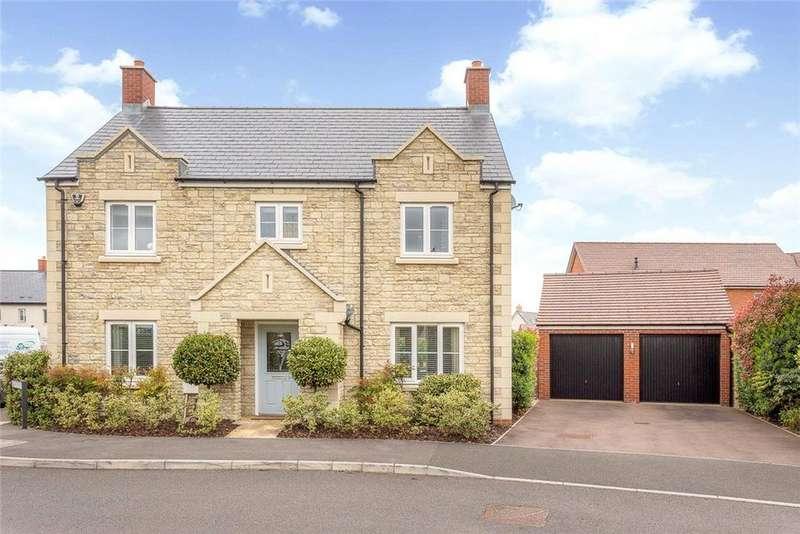 4 Bedrooms Detached House for sale in Egdon Crescent, Cheltenham, Gloucestershire, GL51