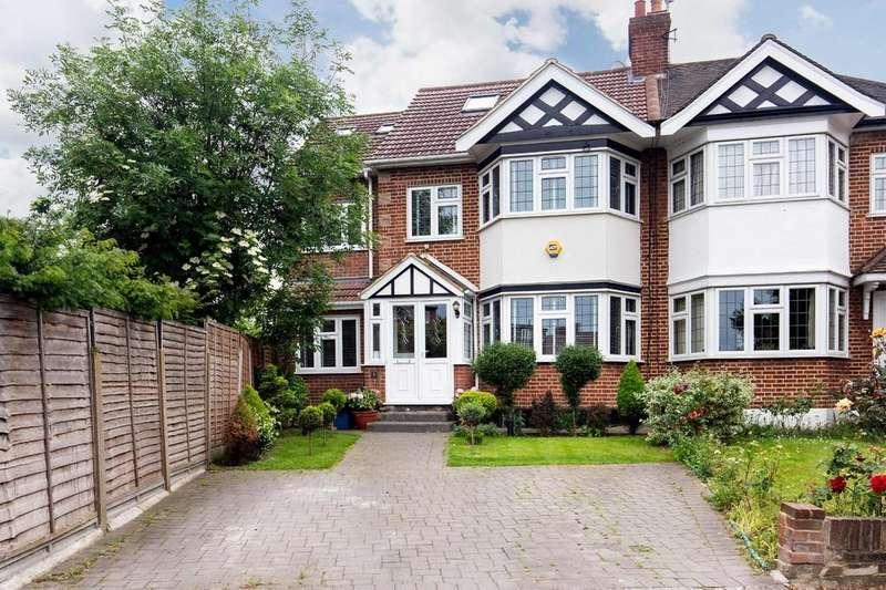 5 Bedrooms Semi Detached House for sale in Burnham Crescent, Wanstead