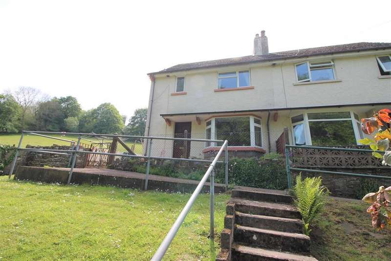 3 Bedrooms Semi Detached House for sale in Highbury Terrace, Redbrook, Monmouth