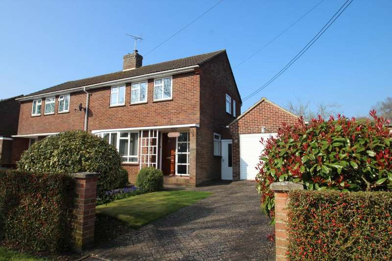 3 Bedrooms Semi Detached House for sale in Church Way, Hungerford RG17