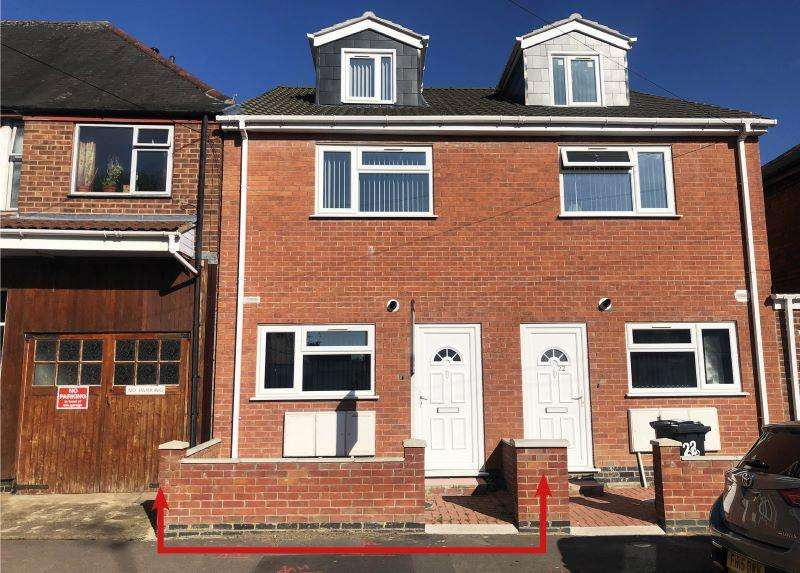 4 Bedrooms Semi Detached House for sale in Nansen Road, North Evington, Leicester, LE5 5FX