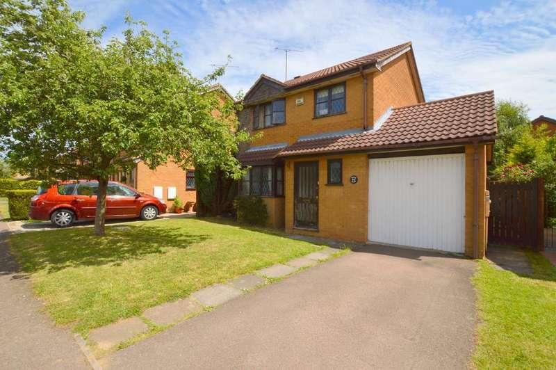 3 Bedrooms Detached House for sale in Marsom Grove, Barton Hills, Luton, Bedfordshire, LU3 4BQ