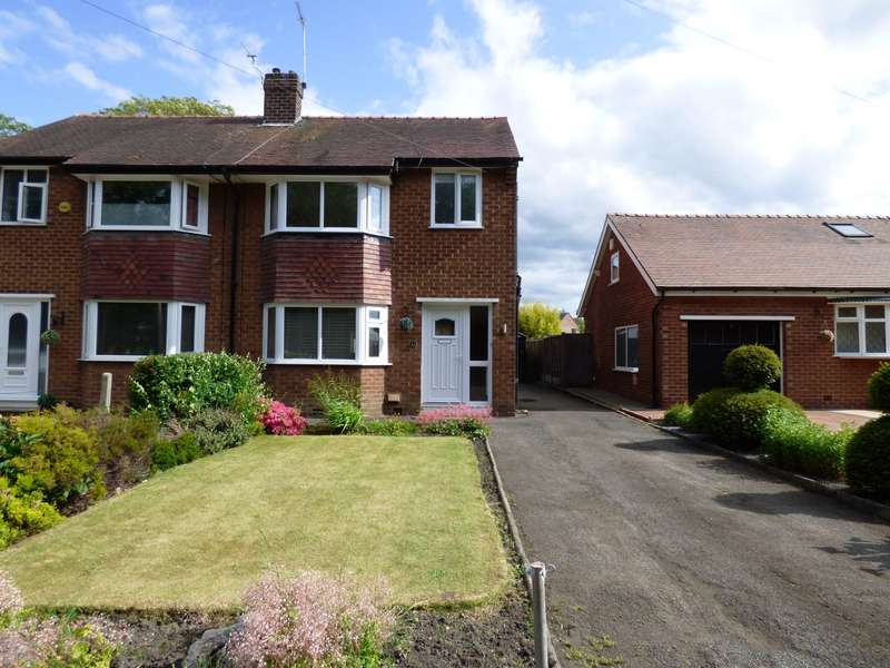 3 Bedrooms Semi Detached House for sale in Barlows Lane South, Stockport, SK7