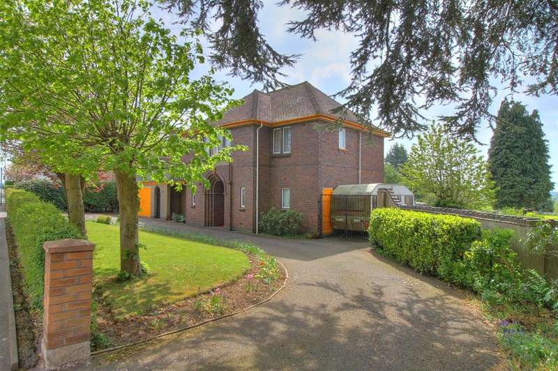 4 Bedrooms Detached House for sale in Ashburton Road, Hugglescote, Coalville