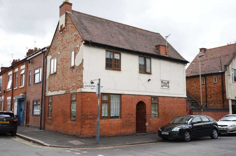 4 Bedrooms End Of Terrace House for sale in 80 Leicester Street, Leicester, Leicestershire