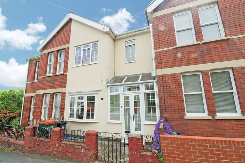 2 Bedrooms Terraced House for sale in Uskvale Drive, Caerleon, Newport, NP18