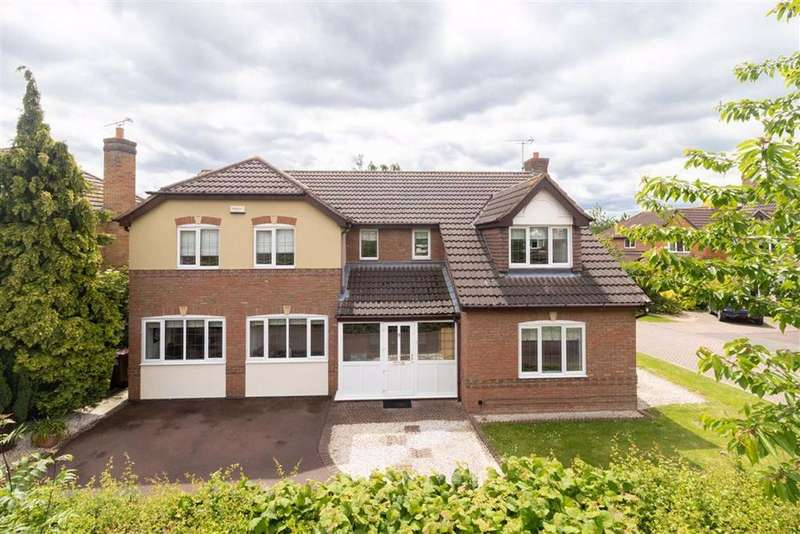 6 Bedrooms Detached House for sale in Poppy Close, Loughborough, LE11