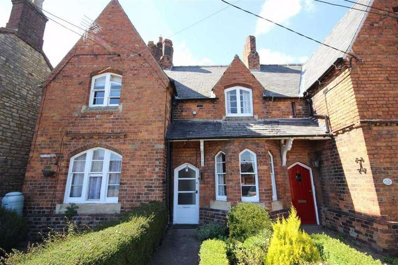 2 Bedrooms Terraced House for sale in High Street, Reepham, Lincoln, Lincolnshire