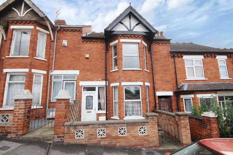 3 Bedrooms Terraced House for sale in Milman Road, Lincoln, Lincolnshire