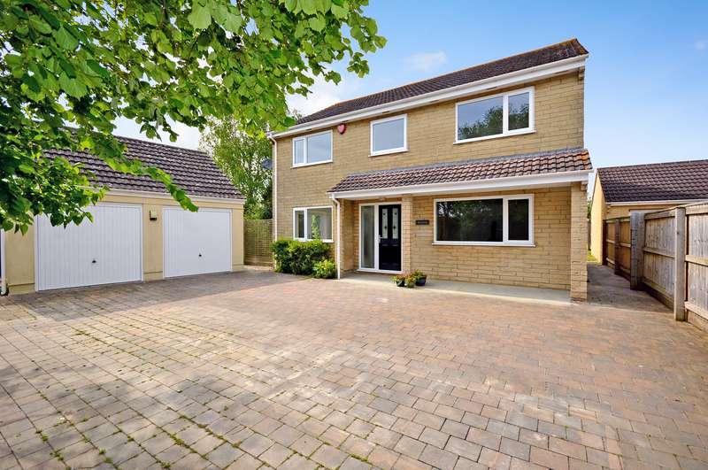 5 Bedrooms Detached House for sale in Portland Road, Huish Episcopi, Langport, Somerset, TA10