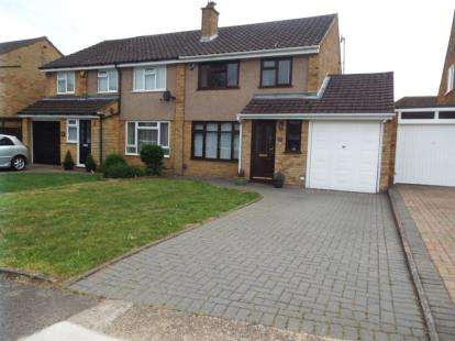 3 Bedrooms Semi Detached House for sale in Edgewood Drive, Luton, Bedfordshire