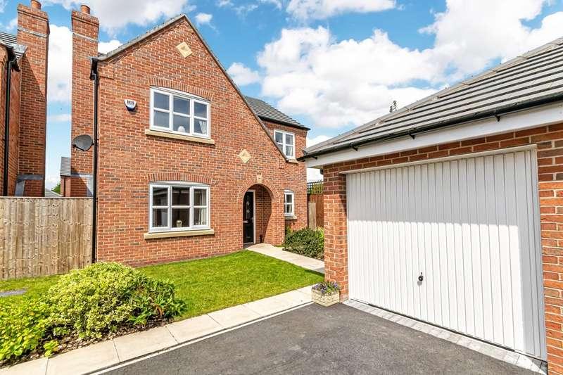 4 Bedrooms Detached House for sale in Hamilton Close, Edgewater Park, Warrington