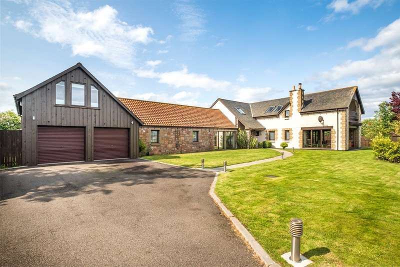 5 Bedrooms Detached House for sale in The Chocolate Box, East Scryne, Carnoustie, Angus, DD7