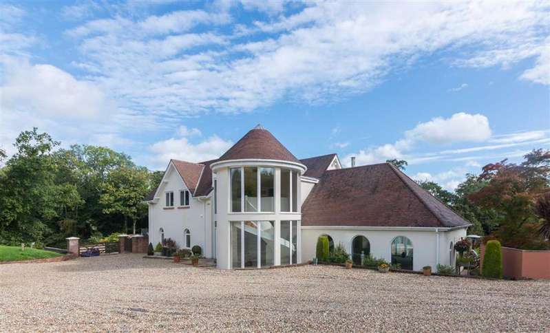 5 Bedrooms Detached House for sale in Draethen, Near Cardiff