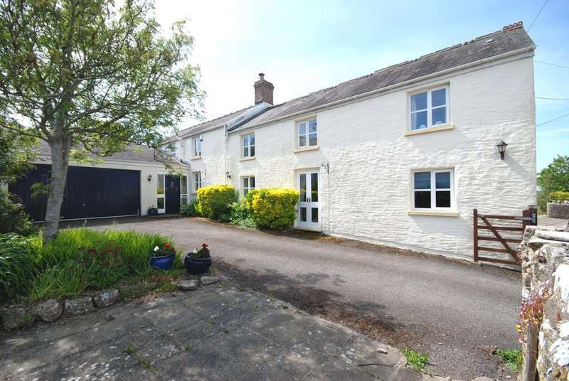 4 Bedrooms Detached House for sale in Llanbethery, Vale of Glamorgan, CF62 3AN