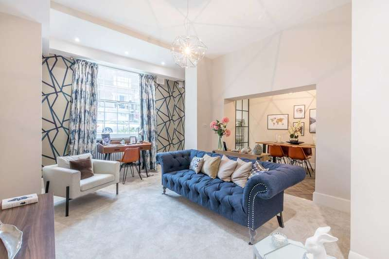 2 Bedrooms Flat for sale in Stanhope Terrace, Connaught Village, W2