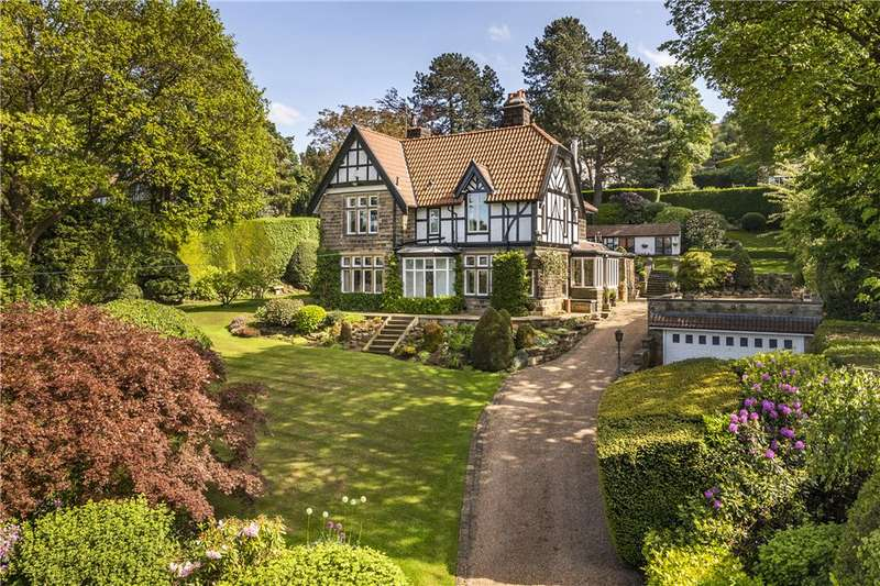 5 Bedrooms Unique Property for sale in Rombalds Lane, Ben Rhydding, Ilkley, West Yorkshire