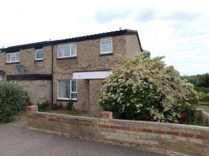 3 Bedrooms End Of Terrace House for sale in Needwood Road, Goldington, Bedford, Bedfordshire